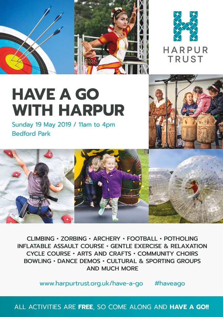 have a go with harpur plakat