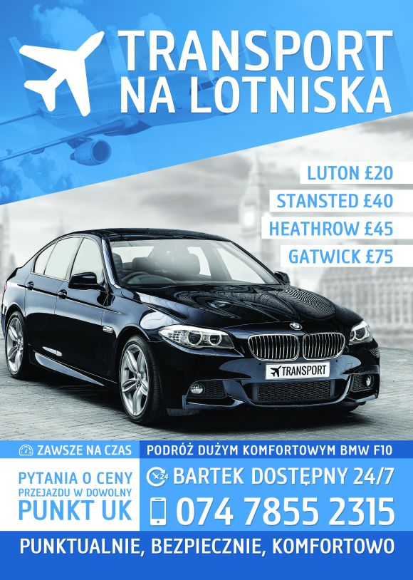 transport lotniska bmw